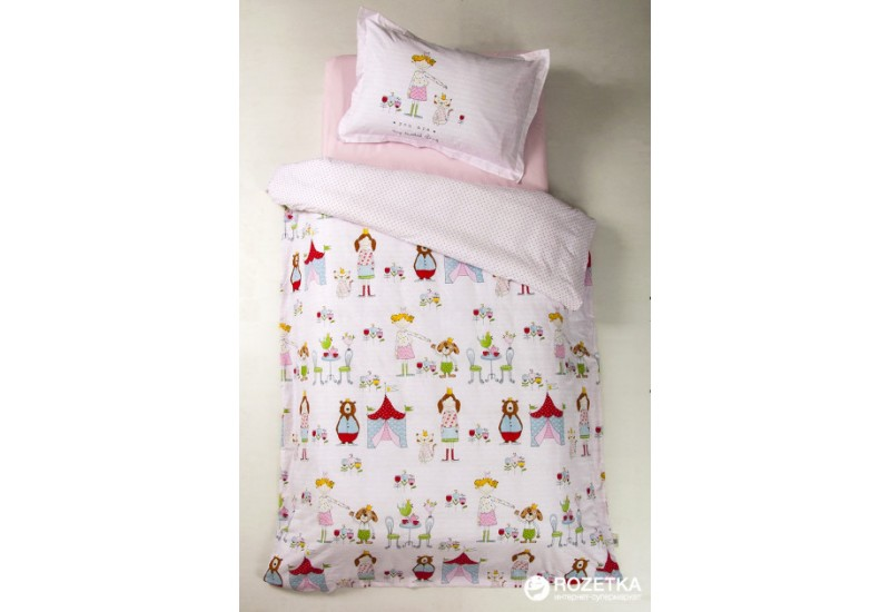100% Cotton Single Duvet Cover Girls Set - Tienda