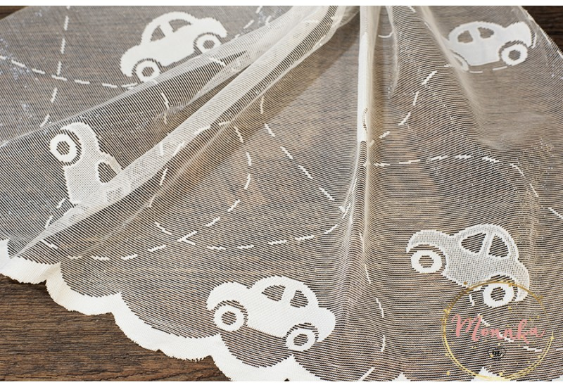 Lace Curtain Panel for a baby/ nursery room. Custom Curtains: Hand Stitched Window Curtains, Window Panels