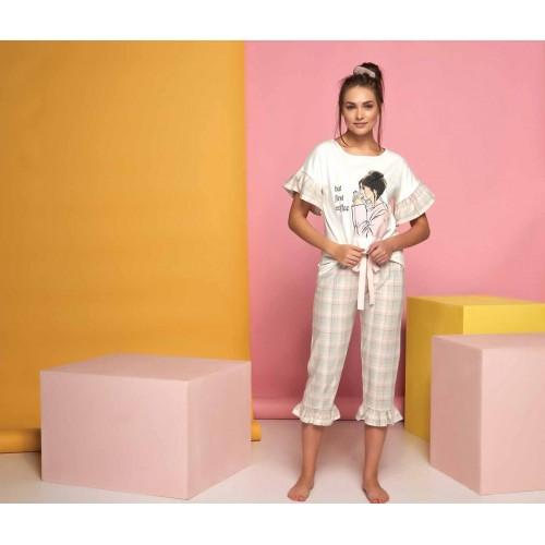 Two-piece women pajamas set