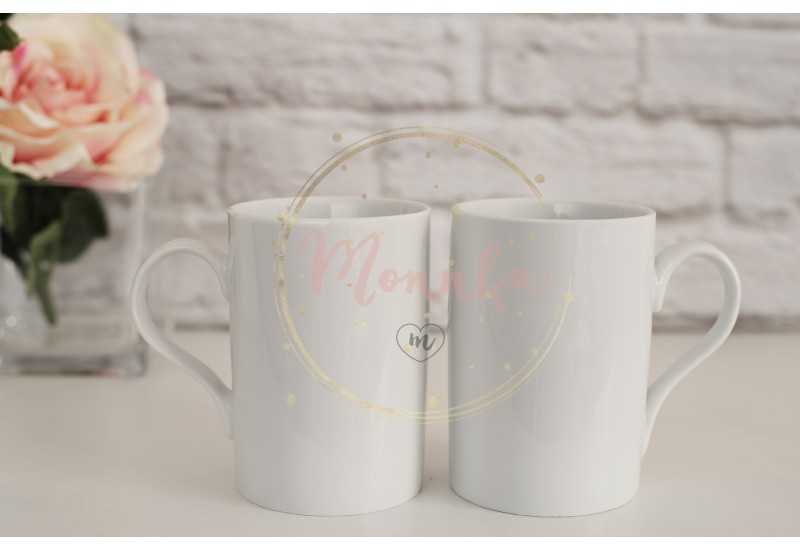 Two Mugs. White Mugs Mockup. Blank White Coffee Mug Mock up. Styled Photography. Coffee Cup Product Display - DIGITAL DOWNLOAD PHOTOGRAPHY