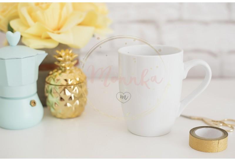 Mug Mockup. Coffee Cup Template. Coffee Mug Printing Design Template. White Mug Mockup. Blank Mug. Styled Stock Product Image. Styled Stock Photography White Coffee Cup and Rose Flower - DIGITAL DOWNLOAD PHOTOGRAPHY