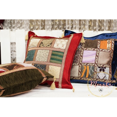 Turkish Moroccan Colourful Kilim Design Pillow Case Covers 17''/43cm HOME DECOR