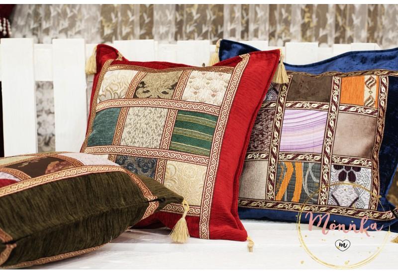 Turkish Moroccan Colourful Kilim Design Pillow Case Covers 17''/43cm HOME DECOR