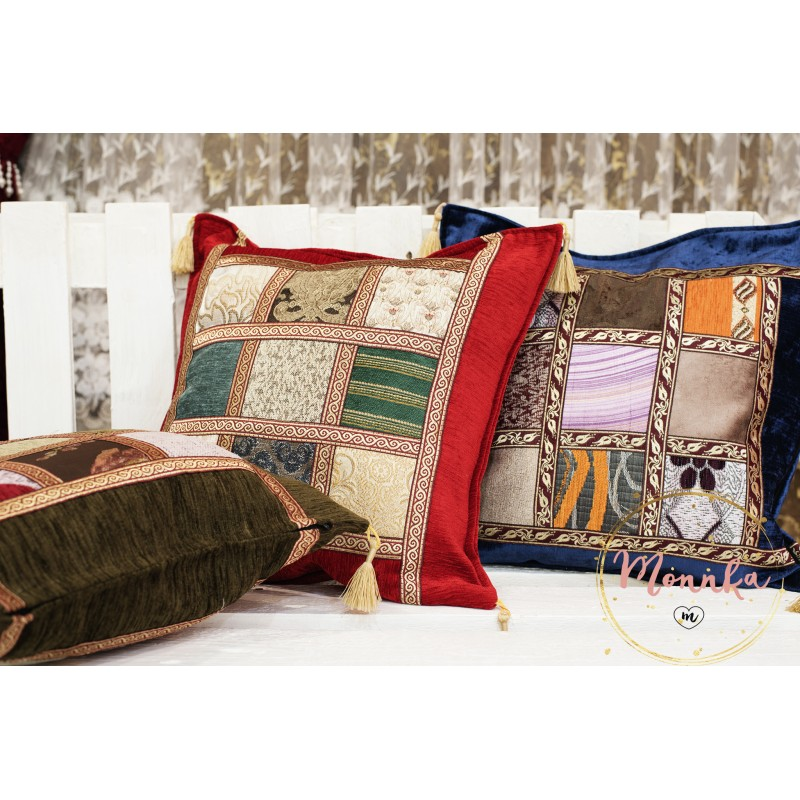 Turkish Moroccan Colourful Kilim Design Pillow Case Covers
