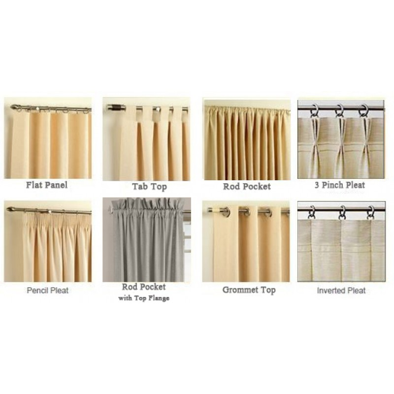 1 Piece Luxury High Quality Window Curtain Panel Custom Curtains Hand Stitched Panels