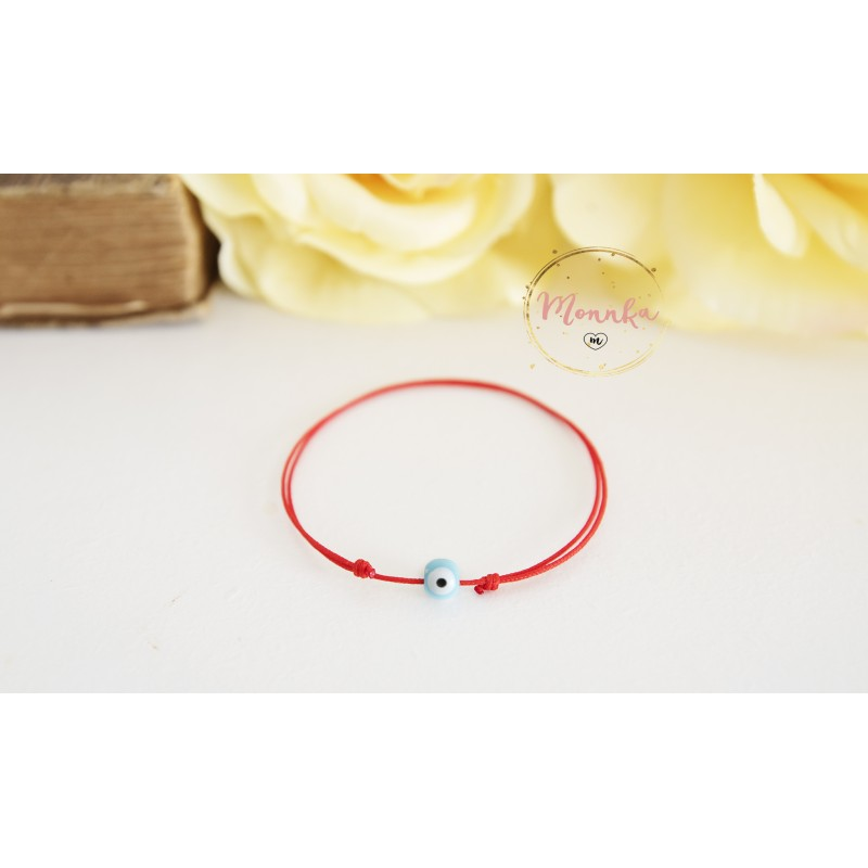 Evil Eye Bracelet Red String Kabbalah Blue Celebrity Style Lucky Uni Women Men Baby Best Friend Gift