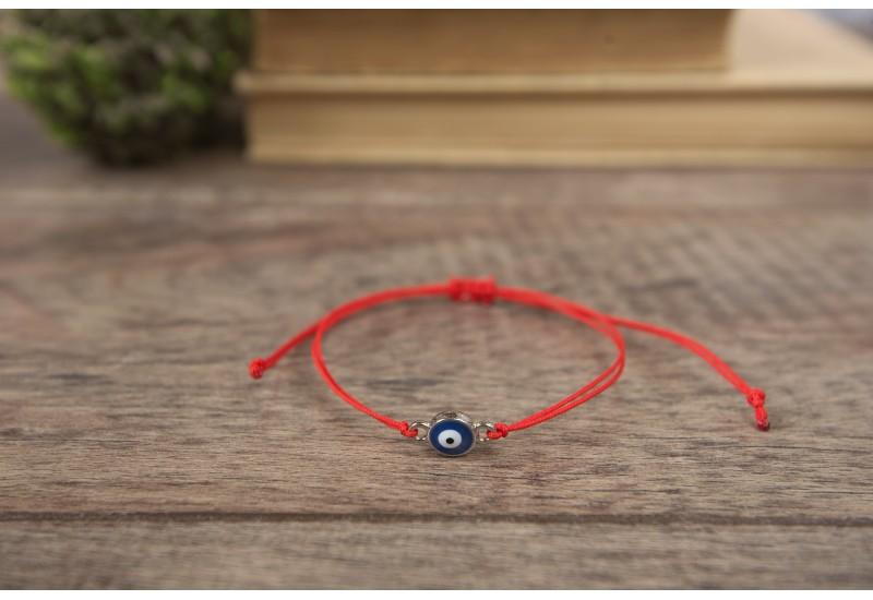 Evil Eye Bracelet. Red String Bracelet. Kabbalah Bracelet