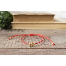Red String Bracelet Gold Star Kabbalah Red String Of Fate Minimalist Amulet