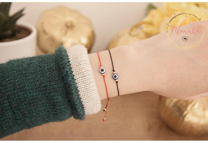Evil Eye Bracelet. Red String Bracelet. Kabbalah Bracelet. Blue Evil Eye. Celebrity Style. Lucky, Unisex, Women, Men, Baby. Best Friend Gift